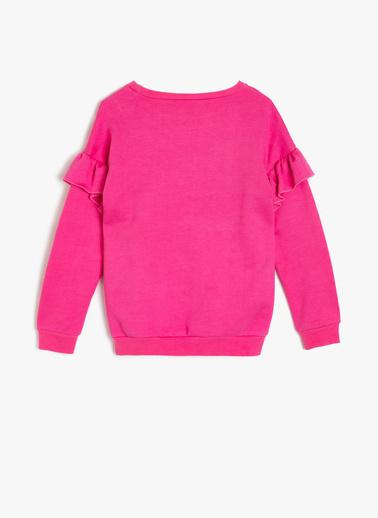 Koton Kids Sweatshirt Pembe